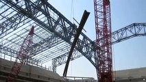 Lucas Oil Stadium Construction
