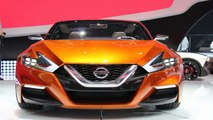 2014 Detroit Auto Show - Nissan Sport Sedan Concept Presentation