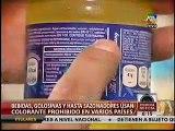 Tartrazina en golosinas, bebidas y hasta sazonadores son un serio riesgo en la salud de los niños