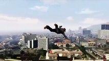 GTA 5 Flying Cheat - Superman Flying Cheat Code (GTA 5 Cheats) - Xbox 360 & PS3