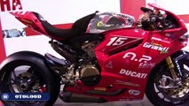 2014 Ducati 1199 Panigale R SBK Racing Bike - Walkaround - 2014 EICMA Milan Motorcycle Exh