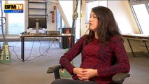Charlie Hebdo: menacée de mort, Zineb El Rhazoui témoigne sur BFMTV