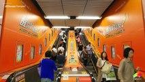 JCDecaux Transport (Hong Kong): Lucozade at MTR Causeway Bay Station
