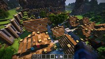 HOW TO USE WOOD BLOCKS IN MINECRAFT!   ep17 Let's play  MINECRAFT; a Role playing video game