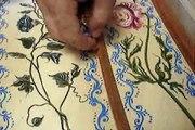 CBH Inserting the harpsichord bridgepins