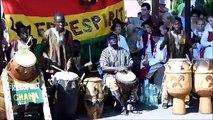 FREESPIRIT tour 2013 - African music and  dance on children's folk festivals in  Poland