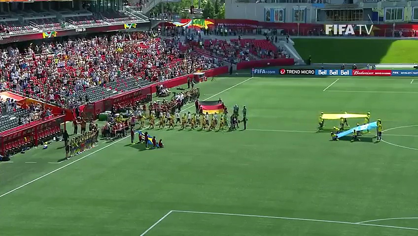 Germany 4-1	Sweden (Women's World Cup 2015) EXTENDED highlights 20.06.2015