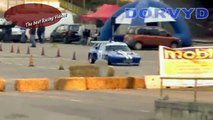 Fiat X1/9 Doing a extreme hot lap and crash