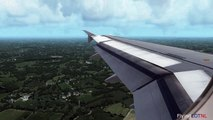 Aerosoft Airbus X TACA A320 Hard Landing at Toncontin