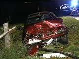 Schwerer Verkehrsunfall bei Lichtenstein