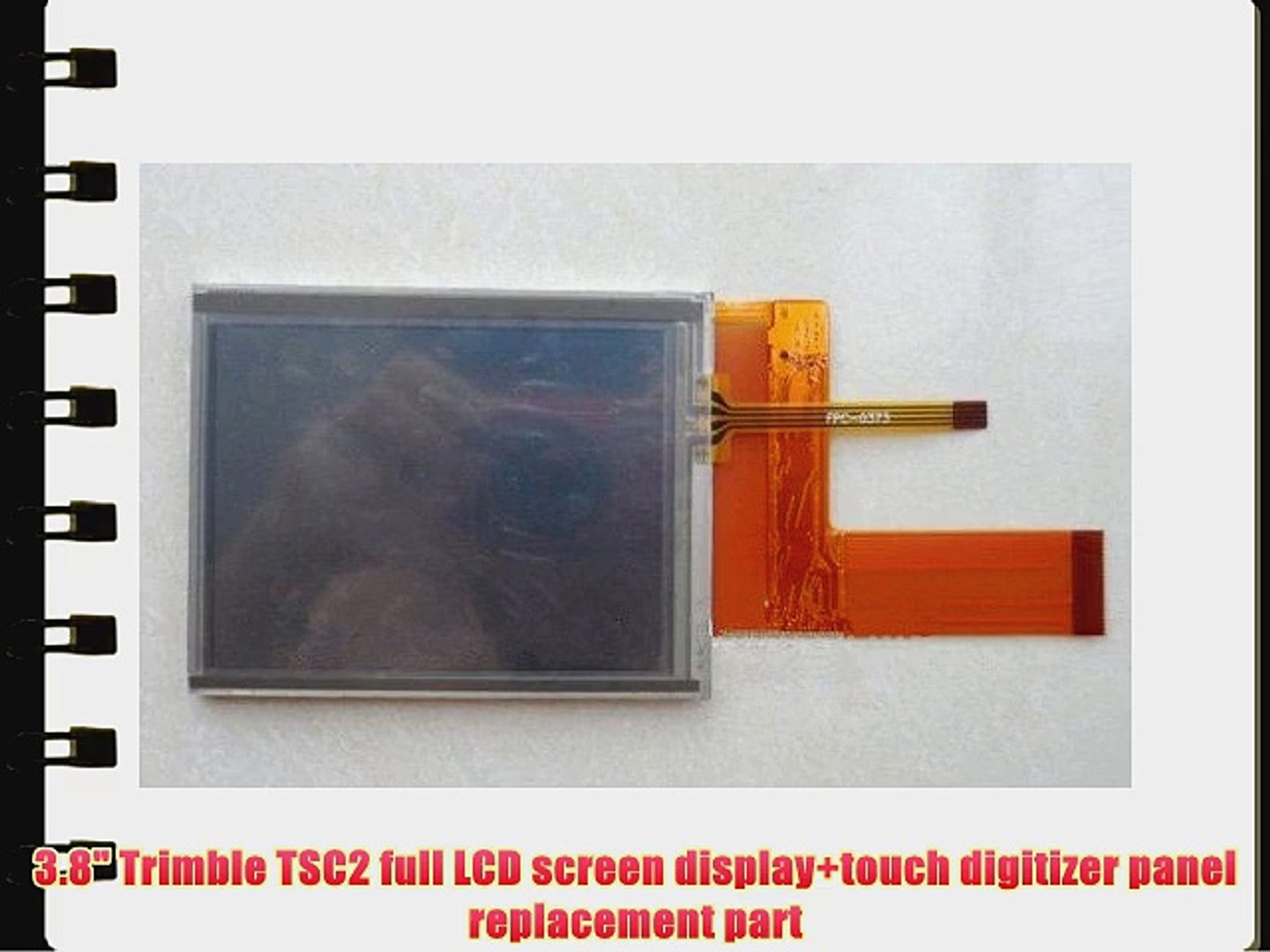 3 8 Trimble TSC2 full LCD screen display touch digitizer panel replacement  part