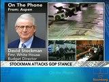 Stockman Discusses Expiration of Bush Tax Cuts: Video