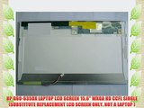 "HP G61-631NR LAPTOP LCD SCREEN 15.6/"" WXGA CCFL SINGLE"