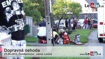 Tragická dopravná nehoda v Žemberovciach - okres Levice