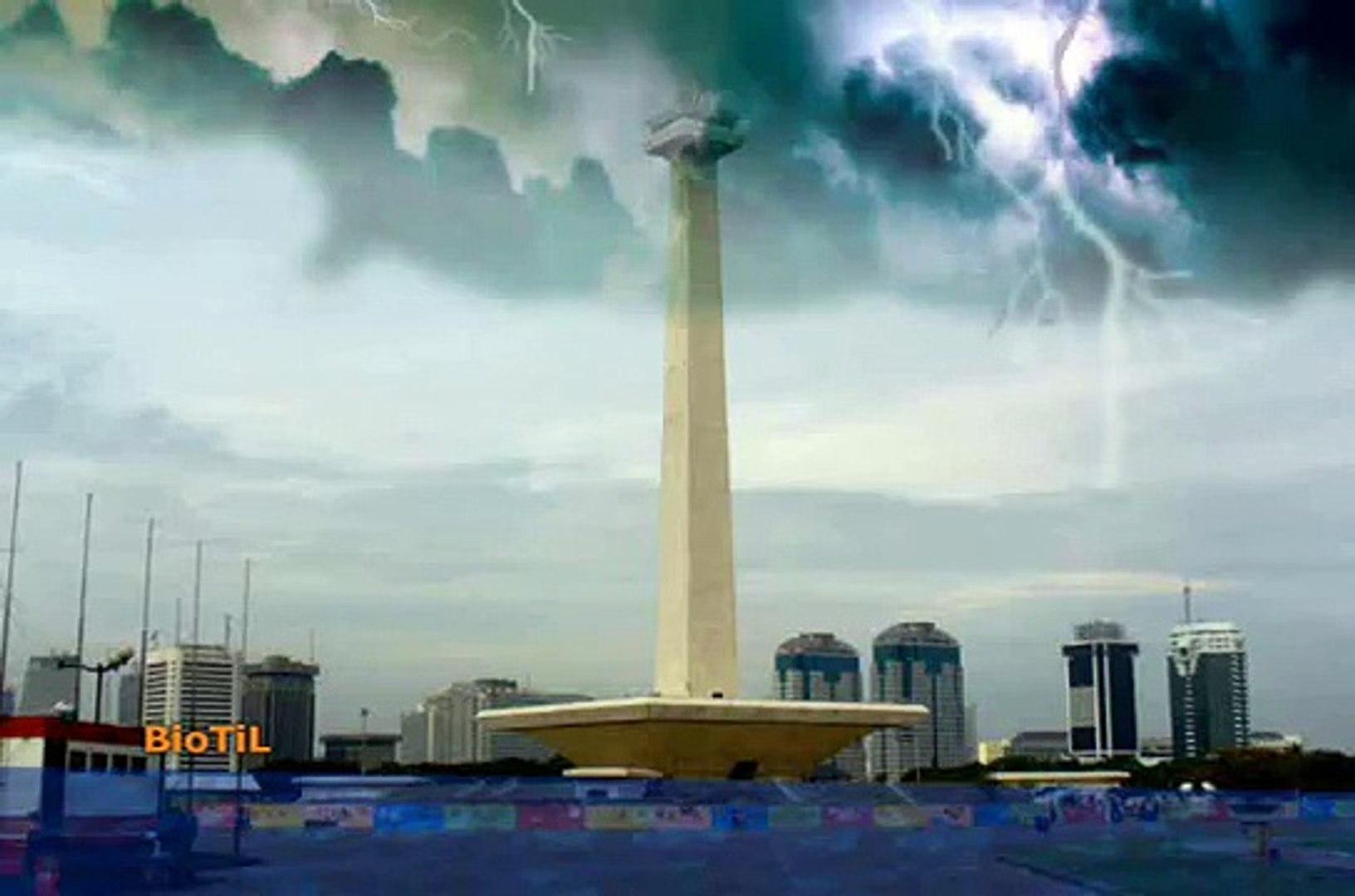 Video Animasi 2D 3D Indonesia Lucu Jakarta Banjir Tenggelam 2013 Ayo Peduli