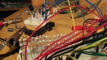 Band Audio Spectrum Analyzer Bass Channel WIP - Falling by GodsRobots