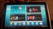 How to factory reset samsung galaxy tab 2 10 1 - video dailymotion