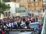 Augusta: manifestazione protesta studenti liceo scientifico