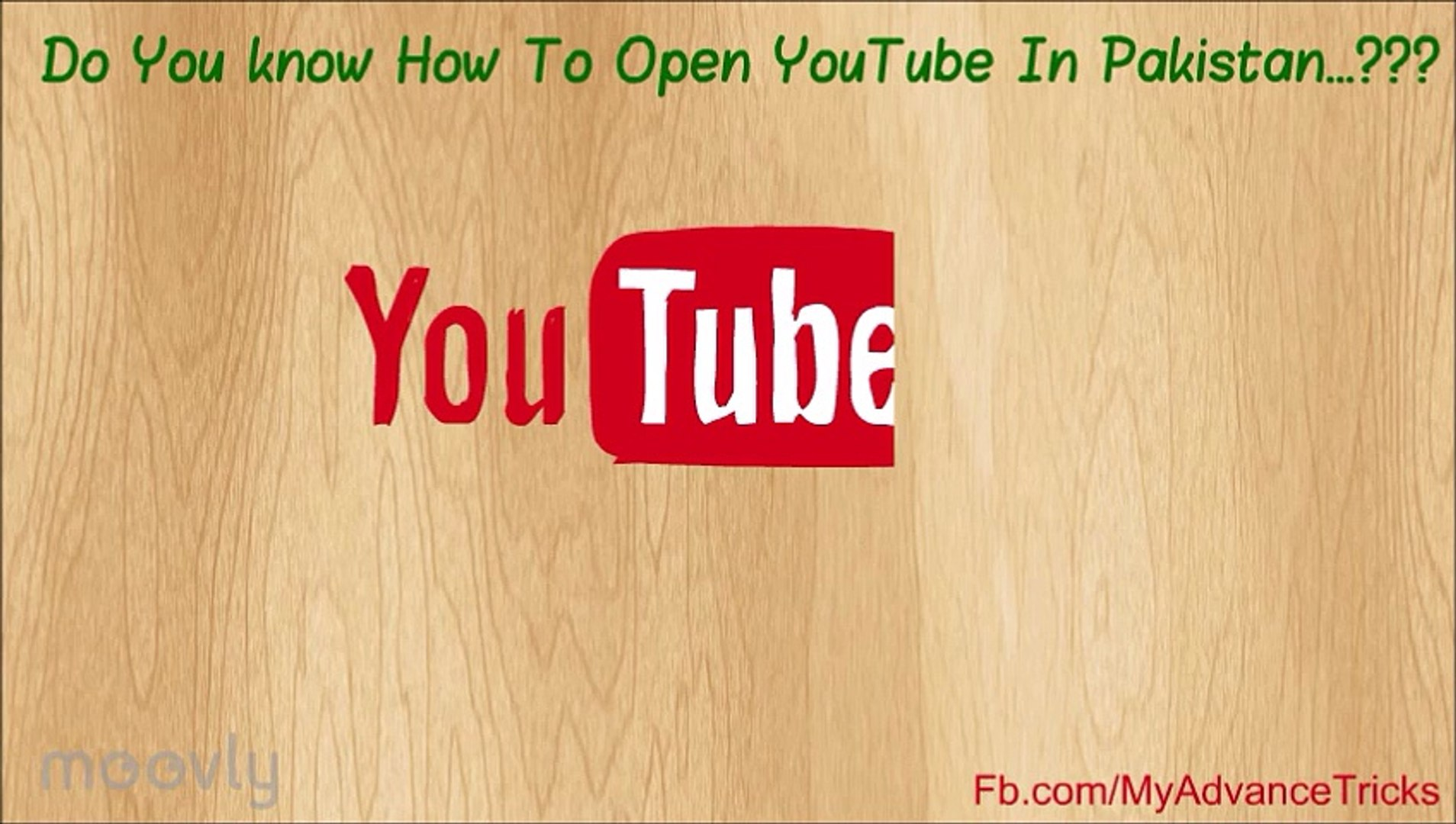 How To Open YouTube And Blocked Websites In Pakistan