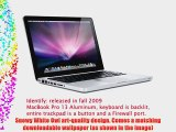 Snowy Owl Design Protector Skin Decal Sticker for Apple MacBook PRO 13 inch Aluminum (w/ SD