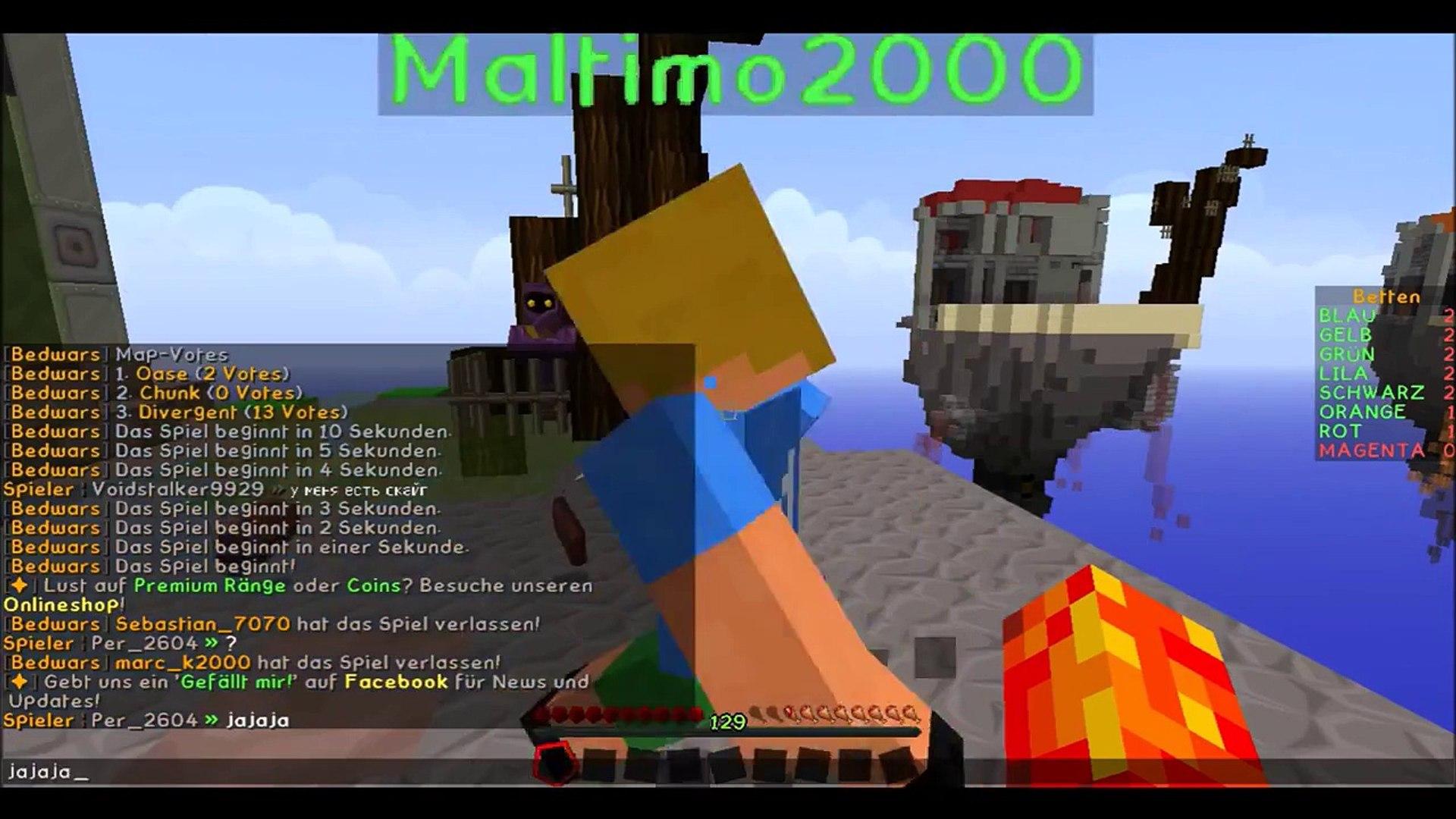 Divergent mit Maltimo2000 | Bedwars | CreePer [HD]