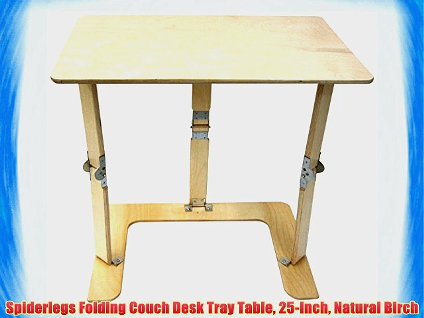 Cool Spiderlegs Folding Couch Desk Tray Table 25 Inch Natural Birch Caraccident5 Cool Chair Designs And Ideas Caraccident5Info