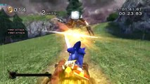 Sonic & the Black Knight (Wii) on Dolphin Wii/GC Emulator 720p HD | Full Speed