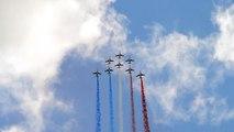 Patrouille de France Flight Demo @ Paris Air Show 2011 Le Bourget