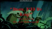 """""""Idiots, I'II Be King!"""" The Lion King One Line Multilanguage (42)"""