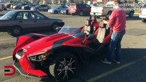 "2015 Polaris Slingshot ""TMZ Style"" 3-Wheeler Motorcycle on Everyman Driver"