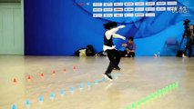 Chinese Girl Amazes with her Roller skating Dance