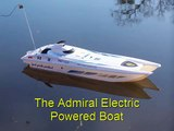 Admiral Electric Boat Vs The Vortex Nitro Powered Boat