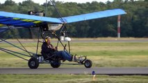 Quicksilver Ultralight, N1788L takeoff, flying landing, taxi at KHWY on 6/15/11
