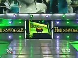 Triple H & Umaga Brawl