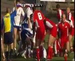 Mecz rugby Czechy - Polska (Ostrava 15.11.2008) - Wybrane akcje