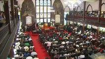 Charleston: premier service religieux à l'église depuis la fusillade