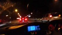 BMW 335i twin turbo highway run