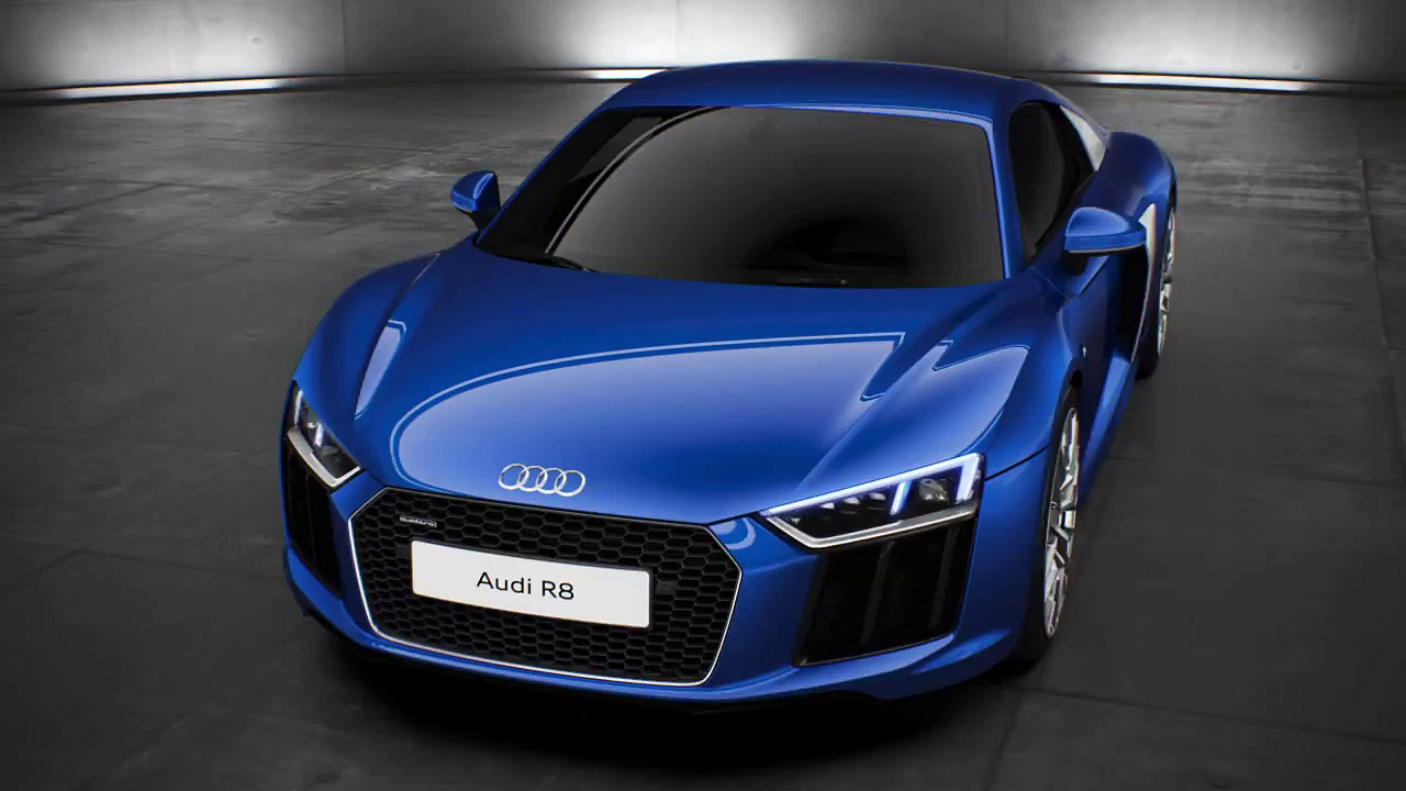 Audi R8 Audi Space – animation
