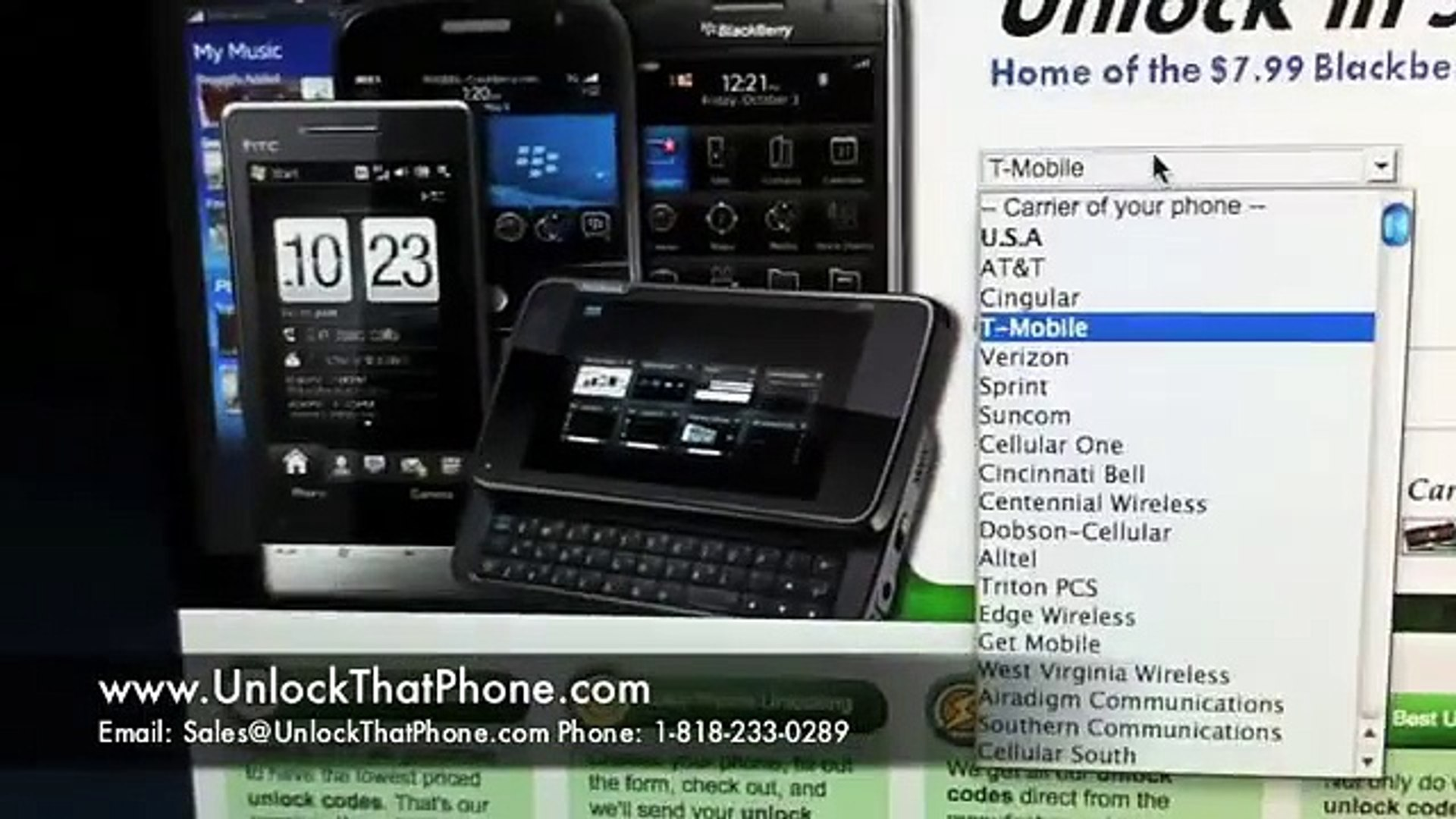 How to Unlock HTC G2 & G1 with Code + Full Unlocking Tutorial!! tmobile  at&t rogers bell telus fido