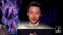 Michael Fassbender and James McAvoy Interview X-Men: Days of Future Past