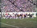 1980 Colorado State University Rams vs. University of Wyoming Cowboys Football Highlights