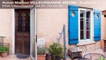A vendre - Maison - VILLEURBANNE (69100) - 6 pièces - 150m²