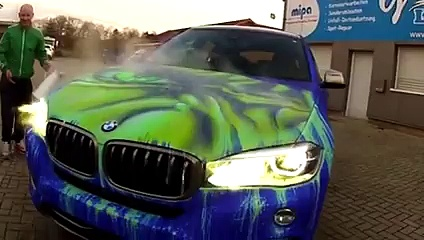 [BMW – X6] Cette BMW devient Hulk !