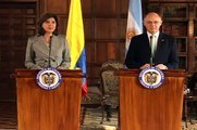 Cancillería de Colombia - Encuentro bilateral con el canciller de Argentina