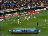 Perú igualó 0-0 con Colombia y avanzó a cuartos de final de la Copa América 2015 [Video]