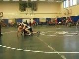 Girl Pins guy in high school wrestling match