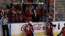 Tim Thomas groin injury Chicago Blackhawks vs Florida Panthers 10/22/13 NHL Hockey
