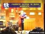 George Bush letterman video