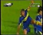 2do. Gol Palermo a Quilmes (Boca 4-Quilmes 0 02-10-2005)