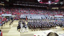 Ohio State Marching Band Penn State Blue Band Plays Their Halftime Show Skull Session 10 26 2013